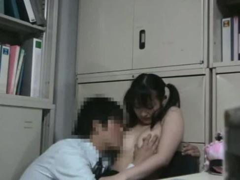 キセルしたツインテール女子校生が「やめて下さい!嫌です!」と抵抗しても泣きながら犯される