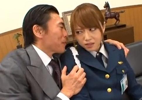 【長編】弱みを握られ社長から犯される美人すぎる警備員