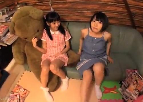 【長編】何も知らない発育途中のロリ姉妹のパイパンを完全中出し調教!