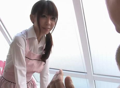 【無修正】元AV女優だとキモヲタにバレたカフェ店員が客から輪姦中出しレイプされる