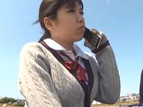 可愛くて巨乳な女子校生が乗ったバスに媚薬ガスを撒いてレイプしてみた
