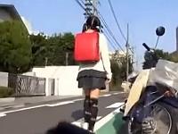 鬼畜注意!下校途中の赤ランドセルの小●生を拉致ってパイパンマ●コを凌辱レイプ…