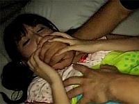 「お兄ちゃんにおっぱい見せてみろや・・!!」 パジャマで眠る妹の寝室に侵入してレ●プ!!