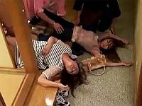 某大学ヤリサー!伝統行事かのように飲み会でお酒に眠剤混ぜられ犯される動画!!