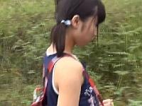 【個人撮影】DQNがレ●プビデオを作成するために田舎の中●生を拉致した犯行動画