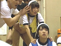 時間を止めて女子校の球技大会に忍び込み、JCロリ少女を悪戯レイプしまくる!