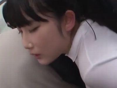 【長編】満員電車の女子校生にチ●ポぶっ刺し中出しレイプ!
