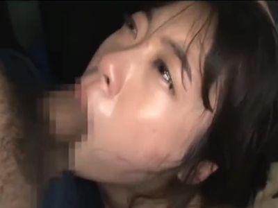鬼畜男だらけのバス車内で黒髪女子大生を輪姦レイプ!