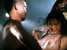 ビビアン・スー(41)恥辱のレ●プ画像…乱暴に晒されたピンクの乳首を丸出しに