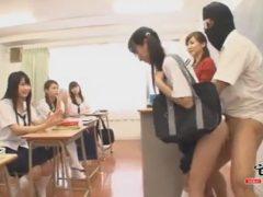 【長編】クラスメイトの目の前でレ●プ!?これが「常に性交」女子校生の性活だ!