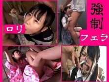 【無慈悲】 小さい女の子に強制フェラチオさせるという、残酷な映像集