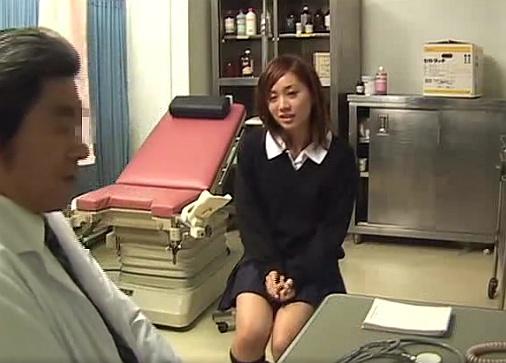 妊娠検査にやってきたビッチギャル女子校生には中出ししてもいいよねwww